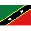Flag of St. Kitts & Nevis Magnet
