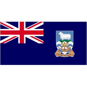 Flag of Falkland Islands Magnet
