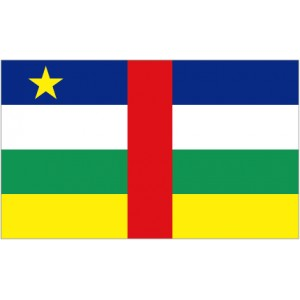 Flag of Central African Republic Magnet
