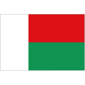 Flag of Madagascar Magnet