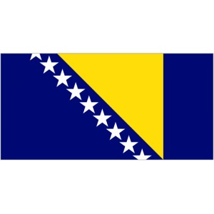 Flag of Bosnia & Herzegovina Magnet