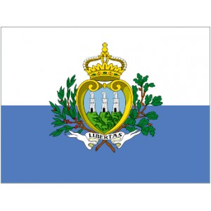 Flag of San Marino Magnet