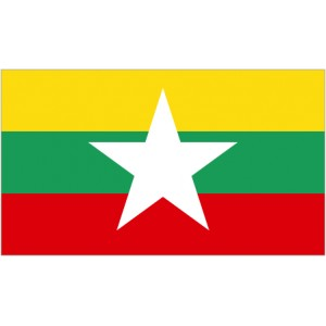 Flag of Myanmar Magnet