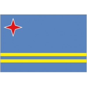 Flag of Aruba Magnet