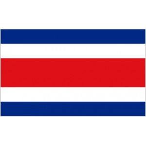 Flag of Costa Rica Magnet
