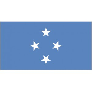 Flag of Micronesia Magnet