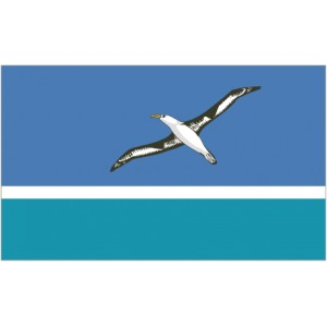 Flag of Midway Islands Magnet