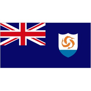 Flag of Anguilla Magnet
